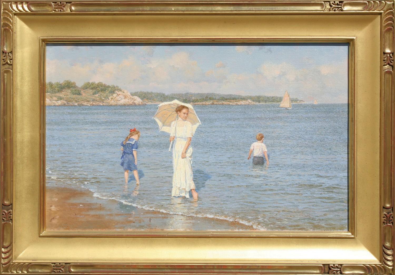 Richard K Loud Oil On Canvas