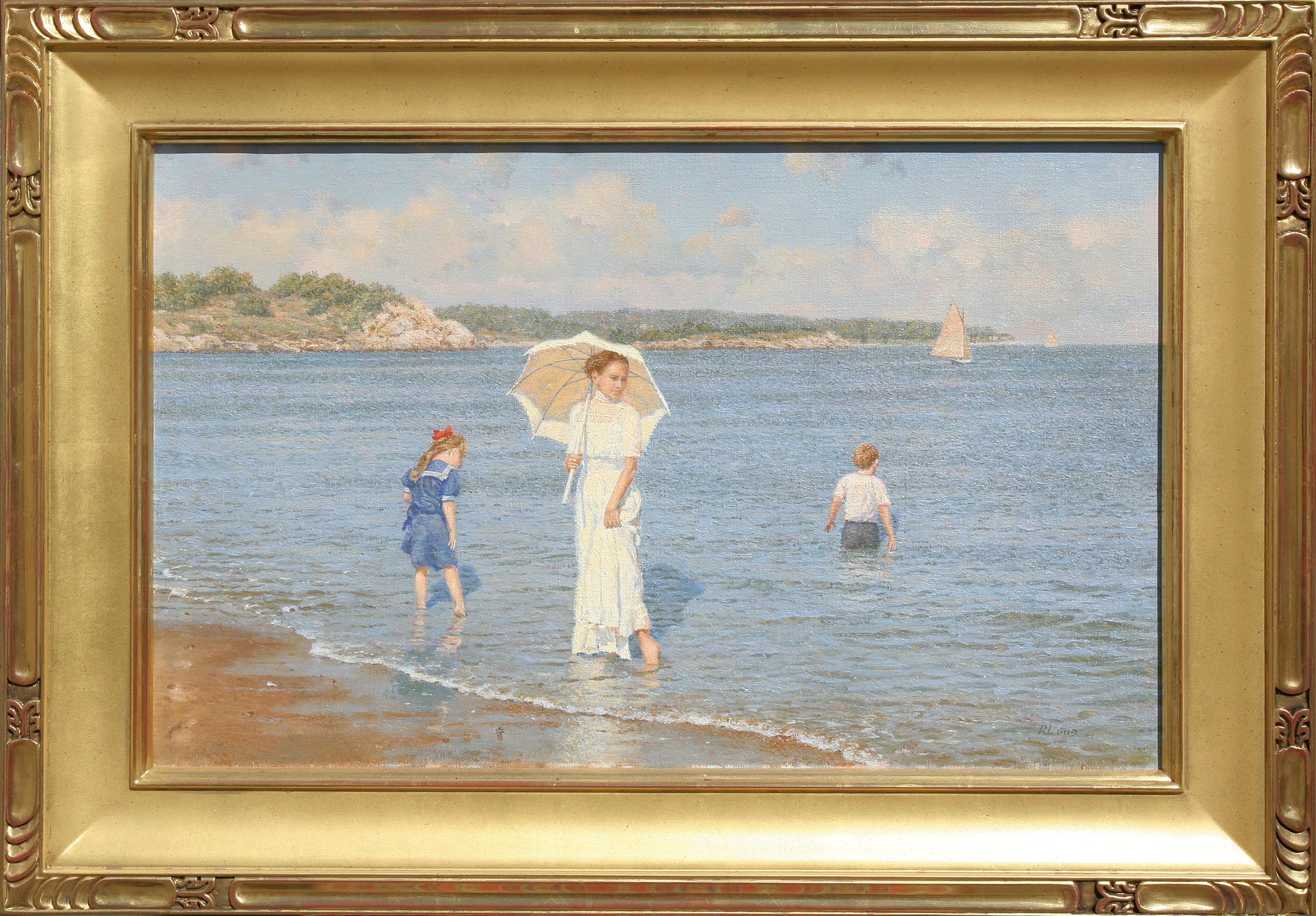 Trade In Marketplace >> - Richard K. Loud Oil on Canvas | Rafael Osona Auctions ...