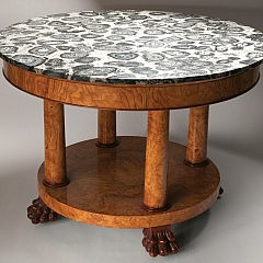 4-4420 Fossil_Marble_Table