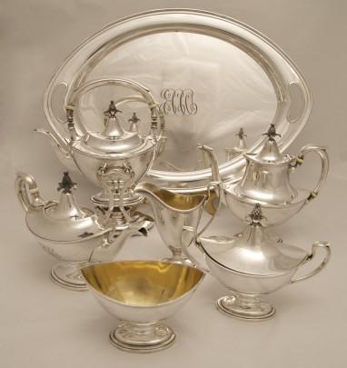17-4153 Gorham Sterling Tea Service Edit