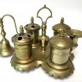 Late 18th Century Spanish Brass Standish