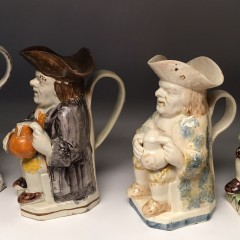 18th Century English Staffordshire Toby Jug
