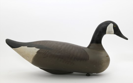 Hand Carved and Painted Brant Goose Decoy