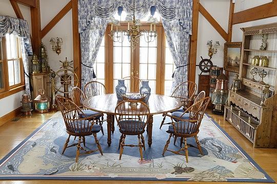 The Michael J. Kittredge Collection of Maritime Artifacts and English Furnishings 72 Pocomo Road, Nantucket Island, Massachusetts