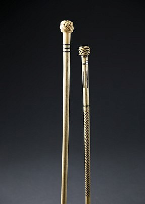 Whalebone Walking Sticks