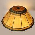 Tiffany Studios N.Y. Linen Fold Lamp Shade