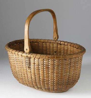 Oval Swing Basket