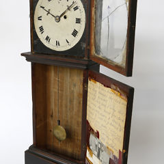 Rare Oliver Bracket Dwarf Shelf Clock