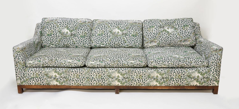 Billy Baldwin Six Cushion Upholstered 7 Ft