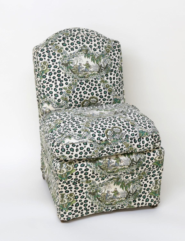 Billy Baldwin Slipper Chair