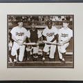 Group of 4 Vintage Historical Baseball Framed Photographs