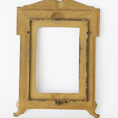 Cast Iron United States Military Souvenir Picture Frame