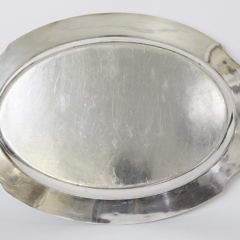 Sterling Silver Meat Platter in the Hepplewhite Pattern
