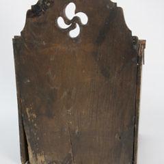 18th Century English Oak Salt Box