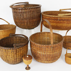 Assortment of Nantucket Lightship Baskets October 12_MG_2742