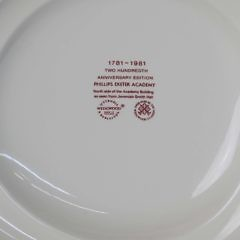 Sixteen Phillips Exeter Academy 200th Anniversary Edition Plates by Wedgwood
