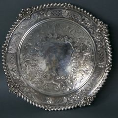 Sterling Silver Gadroon Border Compote