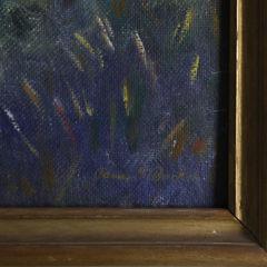 "James Francis Barker Oil on Masonite ""Sankaty Light House"""