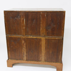 British Regency Camphorwood and Brass Bound Campaign Chest of Drawers, circa 1820-1840