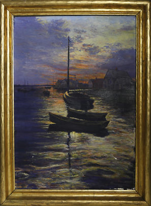 5-4848 James Barker Sunrise Old North Wharf A_MG_7920