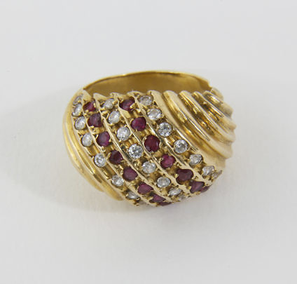 161-4800 Ruby Diamond Cocktail Ring A_MG_8999