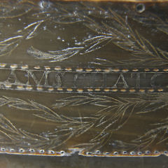 Important and Fine Baleen Ditty Box, circa 1846