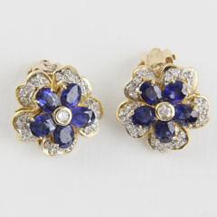 248-4800 Sapphire Diamond Earclips A_MG_8925
