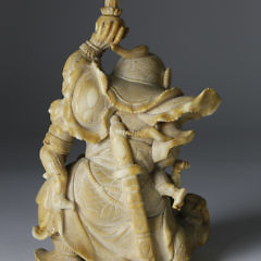 Japanese Meiji Whale Ivory Figural Group, 19th Century